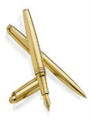 Caran d'Ache Leman Yellow 18ct Gold Limited Edition Pens