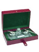 Ferrari da Varese Labrador Polished Sterling Silver Pen Desk Set