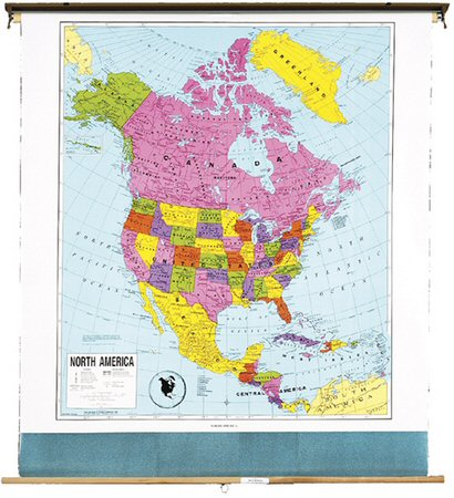 north america political map image search results