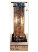 Interior Decorative Column No. 13:  Black and Brown Onyx