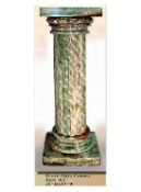 Interior Decorative Column No. 5:  Green Onyx