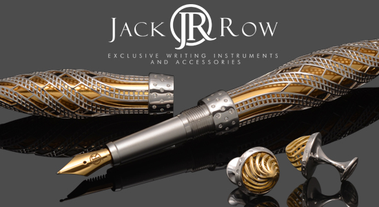 Jack Row Pens and Cufflinks