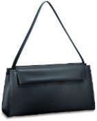 Jack Georges Milano Flap Closure Leather Handbag