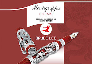 Montegrappa Icons Dragon 2010 Bruce Lee Limited Edition Pens