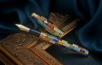 Conway Stewart Elite 18ct Gold Fountain Pens