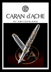 Caran d'Ache Luxury Pens and Leather Goods