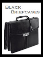 Black Leather Briefcases