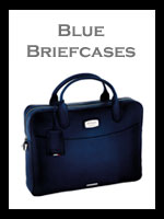 Blue Leather Briefcases