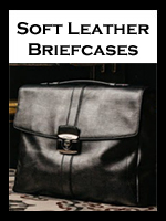 Soft Leather Briefcases and Business Bags