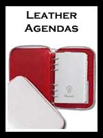Leather Agenda Planners