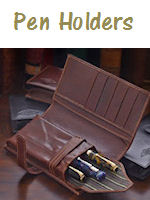 Leather Pen Holders