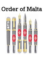 Tibaldi Order of Malta Limited Edition Pens