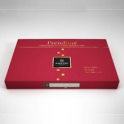 Amedei Holiday Prendime Milk Chocolate Bar with Hazelnuts