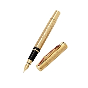 Aurora Leonardo Da Vinci Limited Edition 18ct Gold Fountain Pen