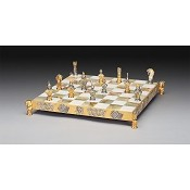 I Simboli Del Poker (Poker Symbols) Gold and Silver Themed Chess Board