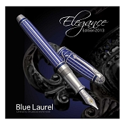 Conway Stewart Blue Laurel Sterling Silver Pens - Limited Edition