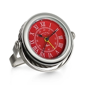 Dalvey Spyder Clock - Red