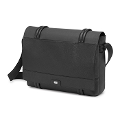 Fedon 1919 Archimede AR-MESSENGER-2 Canvas & Leather Laptop Bag