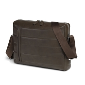 Fedon 1919 Award AW-MESSENGER-1 Brown Leather Shoulder Bag