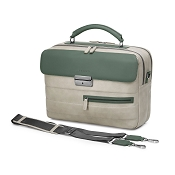 Fedon 1919 Award AW-BRIEF-1 Grey/Green Leather Briefcase