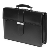 Fedon 1919 Classica CLASS-2 Leather Briefcase - Black