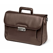 Fedon 1919 Orion OR-BRIEF-1 Leather Briefcase - Brown