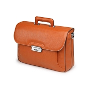 Fedon 1919 Orion OR-BRIEF-1 Leather Briefcase - Orange