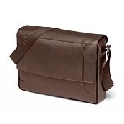 Fedon 1919 Orion OR-MESSENGER-2 Leather Shoulder Bag - Brown