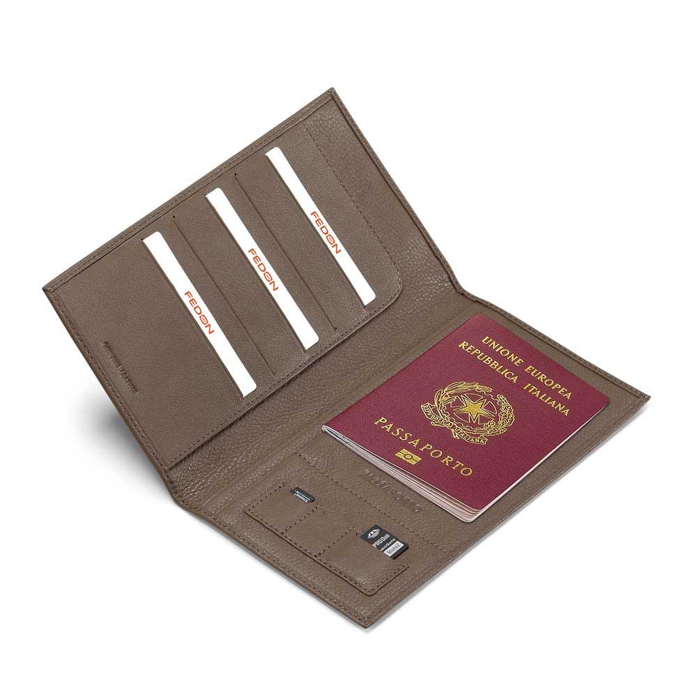 Fedon 1919 Spicy TRAVELDOC-SMALL Travel Document Holder is handmade in ...