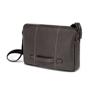 Fedon 1919 Venezia VE-MESSENGER-2 Leather Bag - Dark Brown