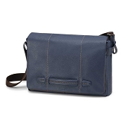 Fedon 1919 Venezia VE-MESSENGER-2 Leather Bag - Marine Blue