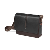 Fedon 1919 WEB-MESSENGER-1 Leather Shoulder Bag - Brown