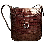 Jack Georges Firenze Serena Leather Crossover Bag