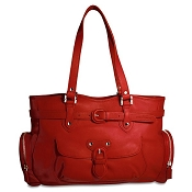 Jack Georges Lexington Sophia Leather Handbag