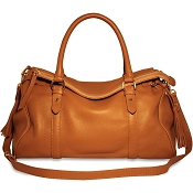 Jack Georges Lexington Nina Leather Satchel Bag