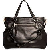 Jack Georges Lexington Jessica Leather Satchel Tote