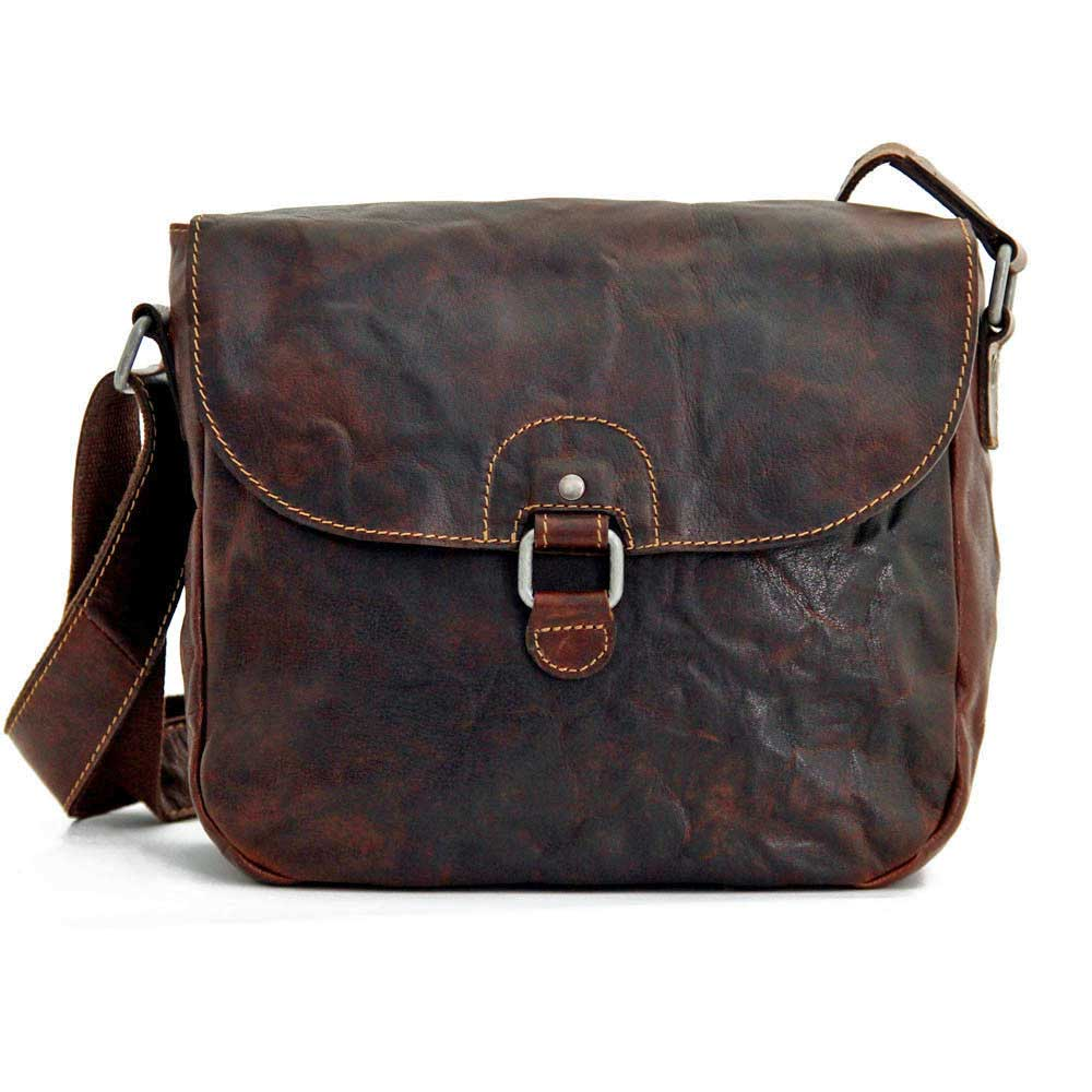 Jack Georges Voyager Leather Saddle Bag #7839 Saddle Bag