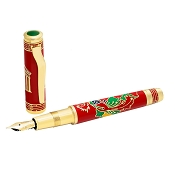 OMAS Phoenix Red Gold Fountain Pen