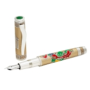 OMAS Phoenix Platinum with Diamonds Fountain Pen