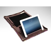 Paolo Guzzetta Leather Travel Desk - Pink Python