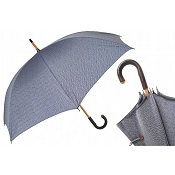 Pasotti Ombrelli Ontario 2 Men's Umbrella - Wild Chestnut Handle