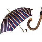 Pasotti Ombrelli Alfred 1 Men's Umbrella - Ash Handle
