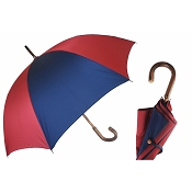 Pasotti Ombrelli Bi-Color Navy & Red Men's Umbrella