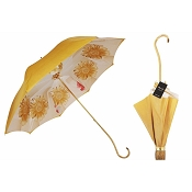 Pasotti Ombrelli Bright Gold to Black Women's Umbrella - Sunflower