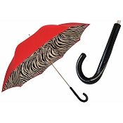 Pasotti Ombrelli Zebra Red Women's Umbrella