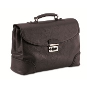 Pineider 1774 Leather Briefcase - 3 Gussets