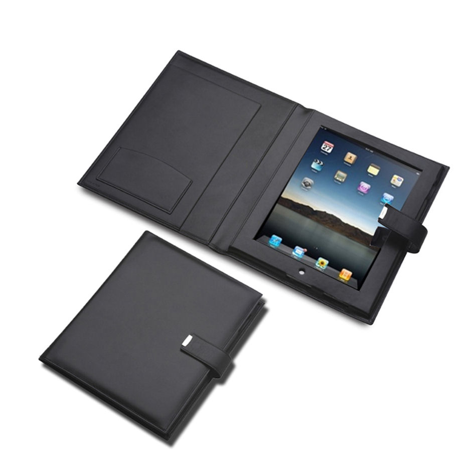 Pineider 1949 Leather iPad Case with Flap
