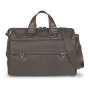 Pineider Aliante Winter 2 Handle Leather Bag