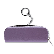 Pineider City Chic Leather Key Holder with Zip