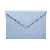 Pineider City Chic Leather Envelope Shaped Document Case - Medium